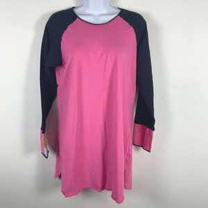 Betsey Johnson Intimates Nightgown L Pink Long